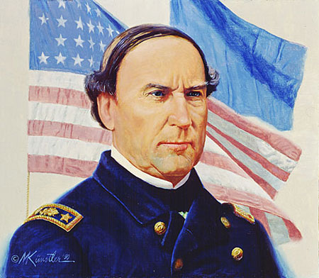 Who was the commander of the Union naval forces that captured New Orleans in April of 1862?